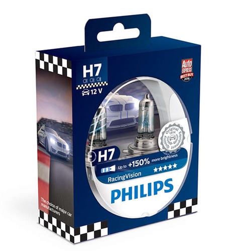 Philips RacingVision H7-polttimopari +150%
