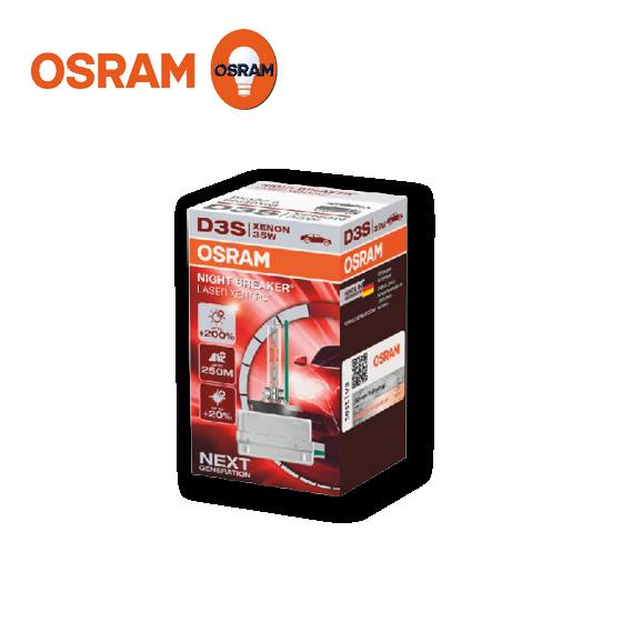 Osram Night Breaker Laser Xenarc Xenon-D3S +200 % 42 V / 35 W